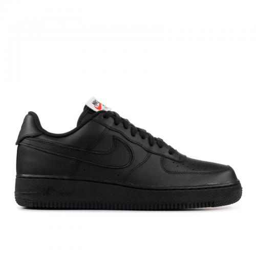 ナイキ エアー フォース スウッシュ スウォッシュ パック '07 メンズ 男性用 メンズ靴 スニーカー 靴 【 NIKE AIR SWOOSH FORCE 1 QS PACK BLACK BLACKBLACK 】