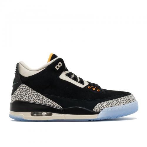 エアー ジョーダン パック メンズ 男性用 スニーカー メンズ靴 靴 【 AIR JORDAN 3 ATMOS PACK BLACK GREY YELLOW 】