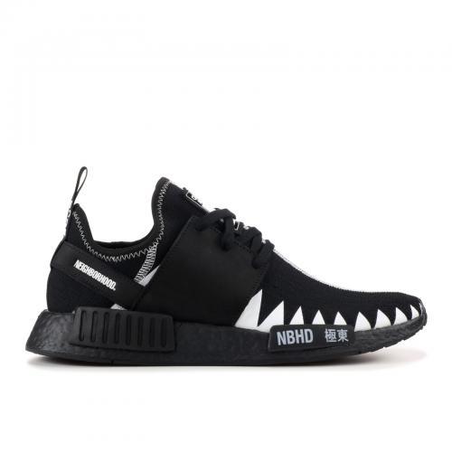 アディダス ピーケー メンズ 男性用 スニーカー メンズ靴 靴 【 ADIDAS NMD R1 PK NEIGHBORHOOD BLACK WHITE 】