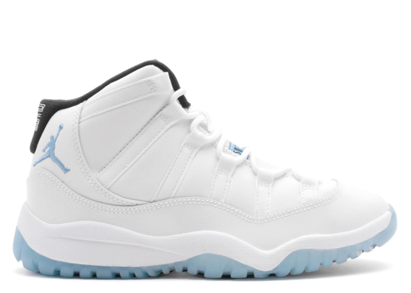 エアー ジョーダン レトロ レジェンド 青 ブルー メンズ 男性用 スニーカー 靴 メンズ靴 【 AIR JORDAN LEGEND BLUE 11 RETRO BP PS WHITE 】