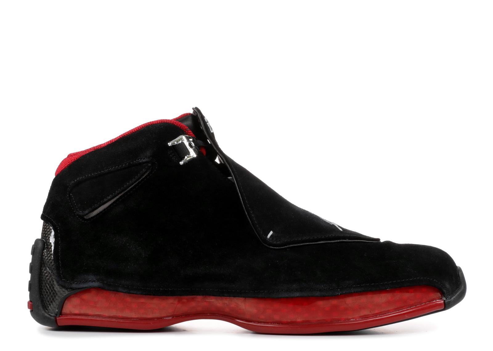 エアー ジョーダン レトロ カウントダウン パック 赤 レッド メンズ 男性用 靴 スニーカー メンズ靴 【 AIR JORDAN 18 RETRO COUNTDOWN PACK BLACK VARSITY RED 】