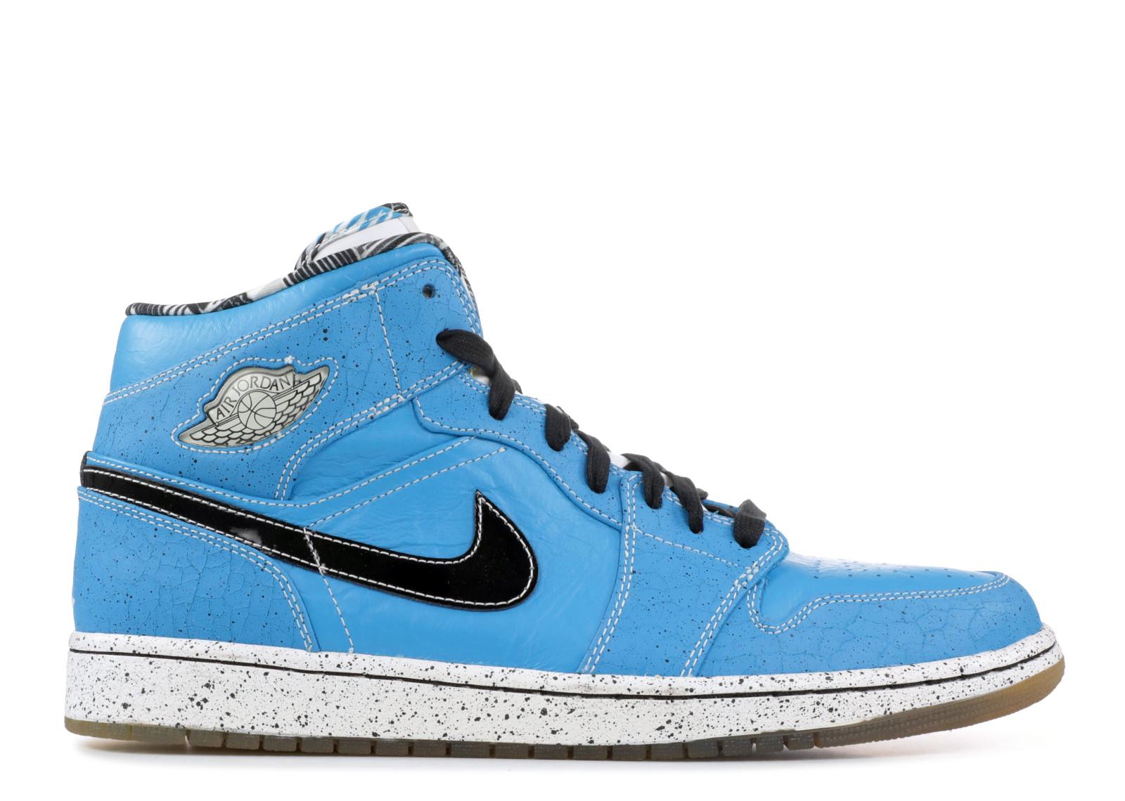エアー ジョーダン レトロ レーザー メンズ 男性用 靴 スニーカー メンズ靴 【 AIR JORDAN LASER 1 RETRO RUFF N TUFF QUAI 54 BLUE BLACKWHITE 】