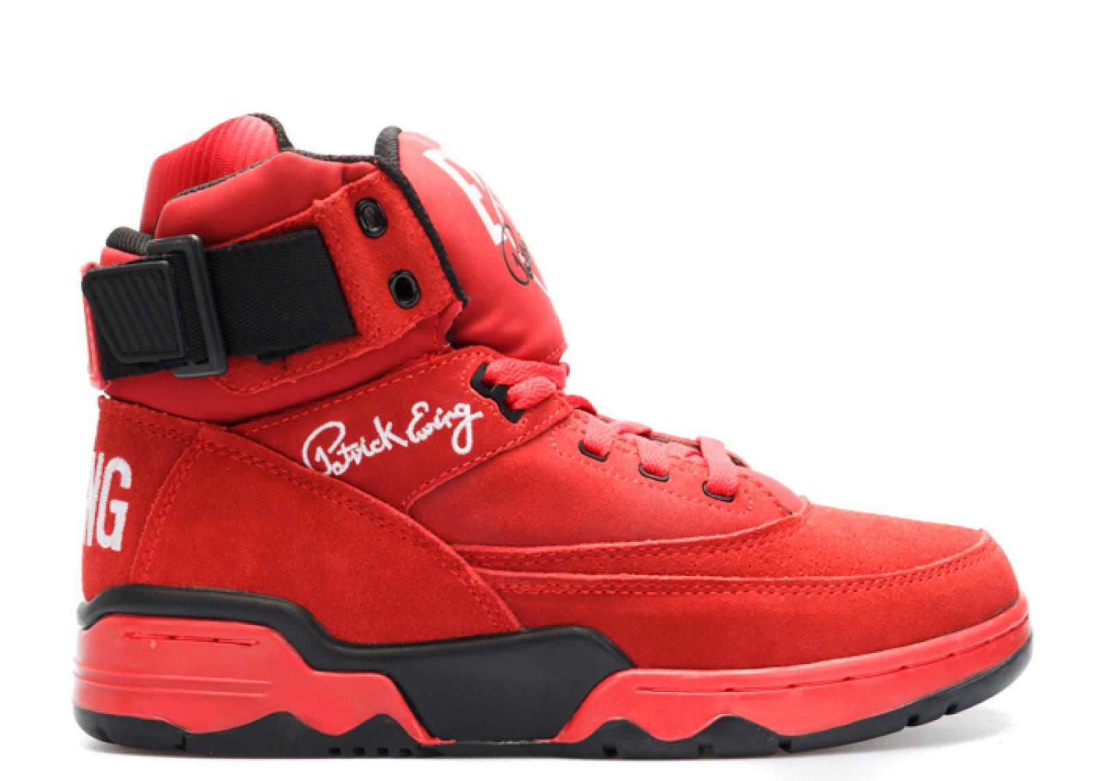 ハイ メンズ 男性用 メンズ靴 靴 スニーカー 【 EWING 33 HI RED BLACK 】