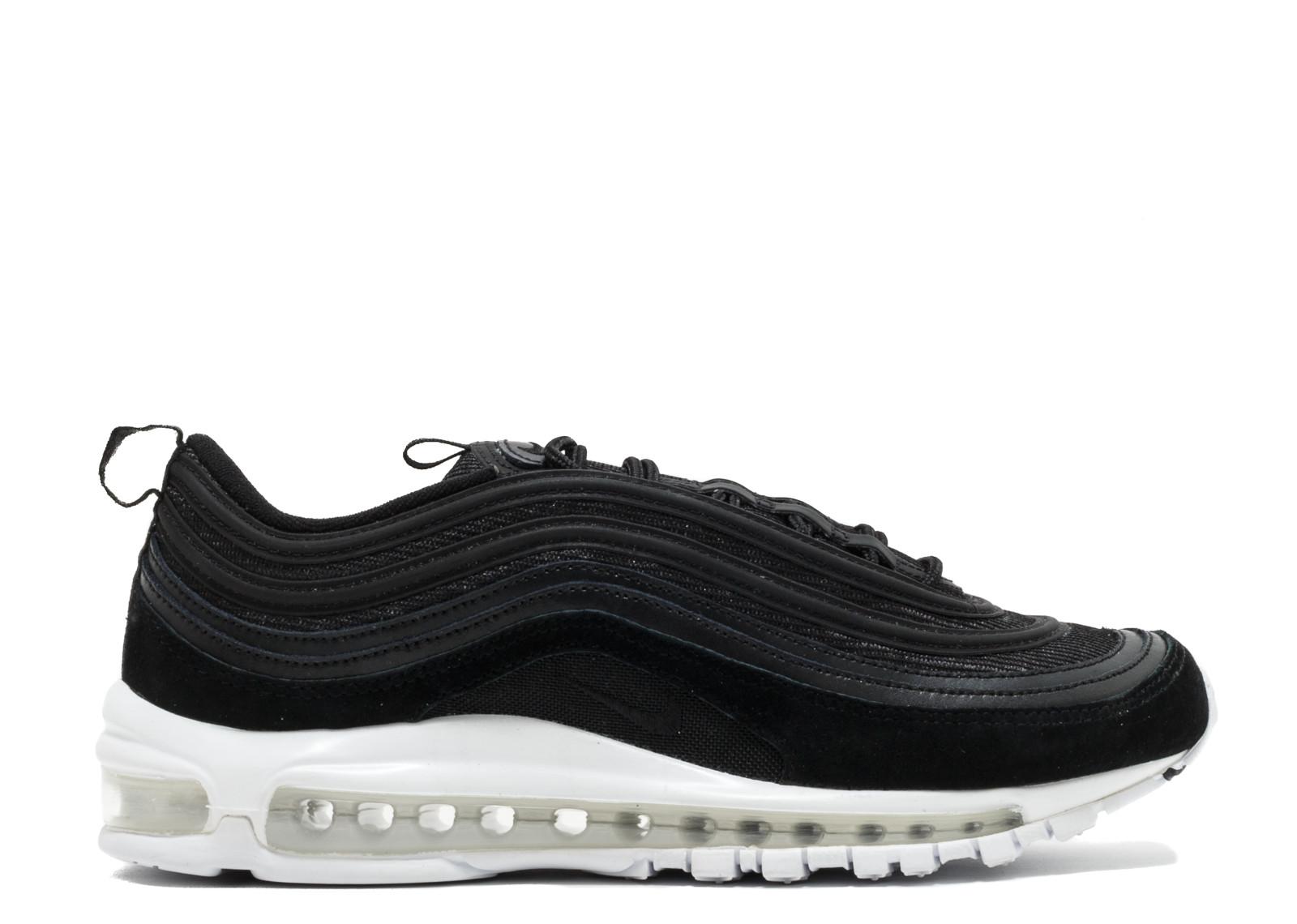 ナイキ エアー マックス メンズ 男性用 靴 スニーカー メンズ靴 【 NIKE AIR MAX 97 BLACK BLACKWHITE 】