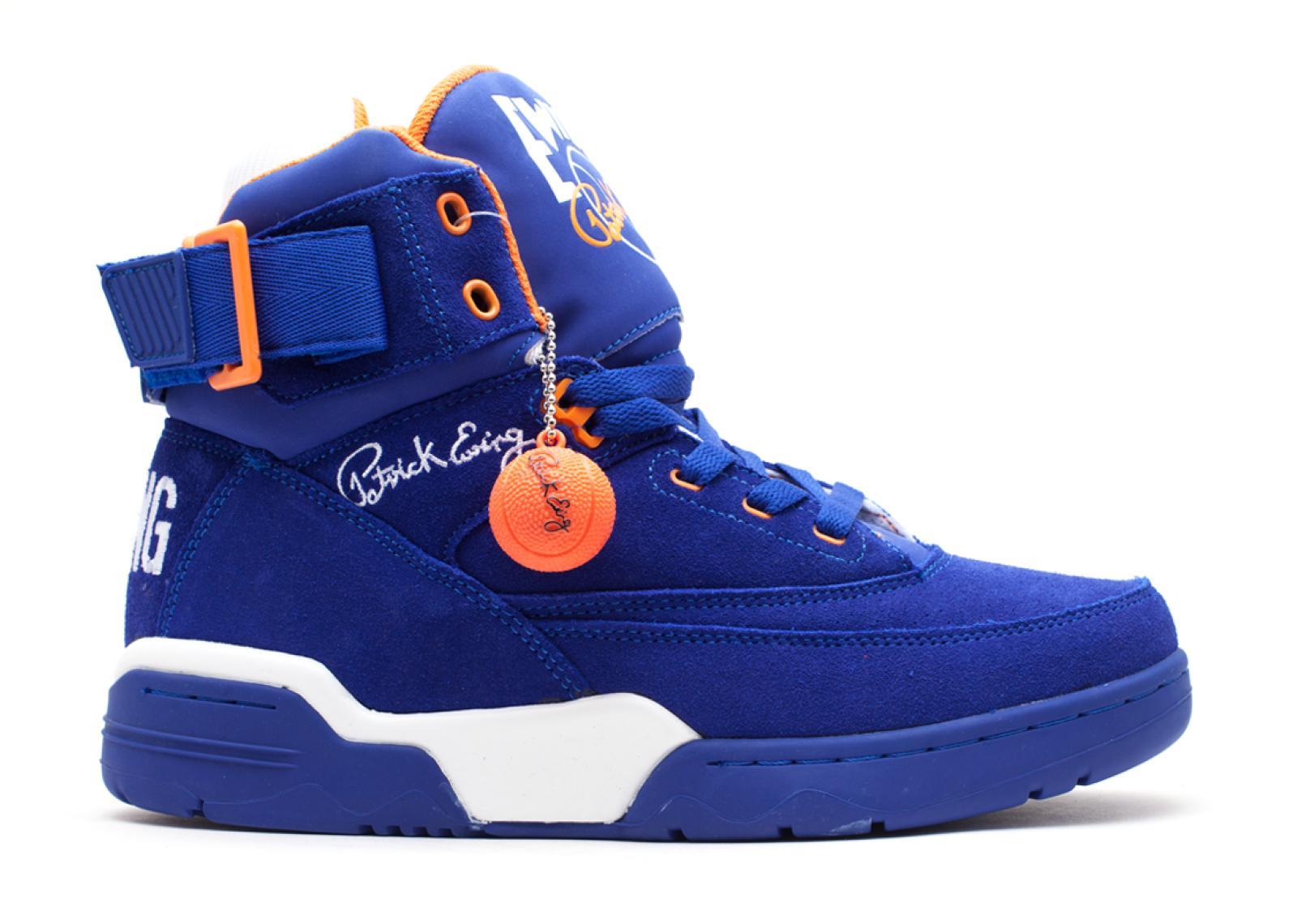 ハイ メンズ 男性用 靴 メンズ靴 スニーカー 【 EWING 33 HI BLUE ORANGEWHITE 】