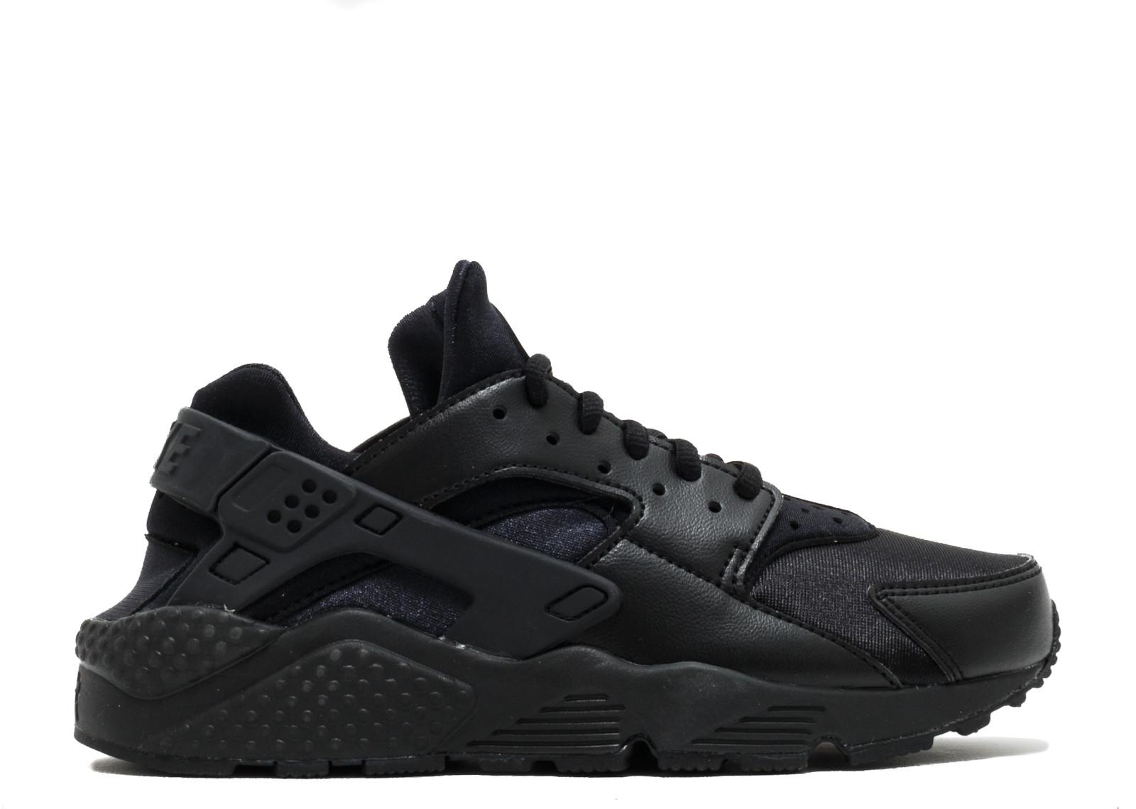 ナイキ エアー ハラチ ラン W'S メンズ 男性用 メンズ靴 スニーカー 靴 【 NIKE AIR HUARACHE RUN BLACK 】