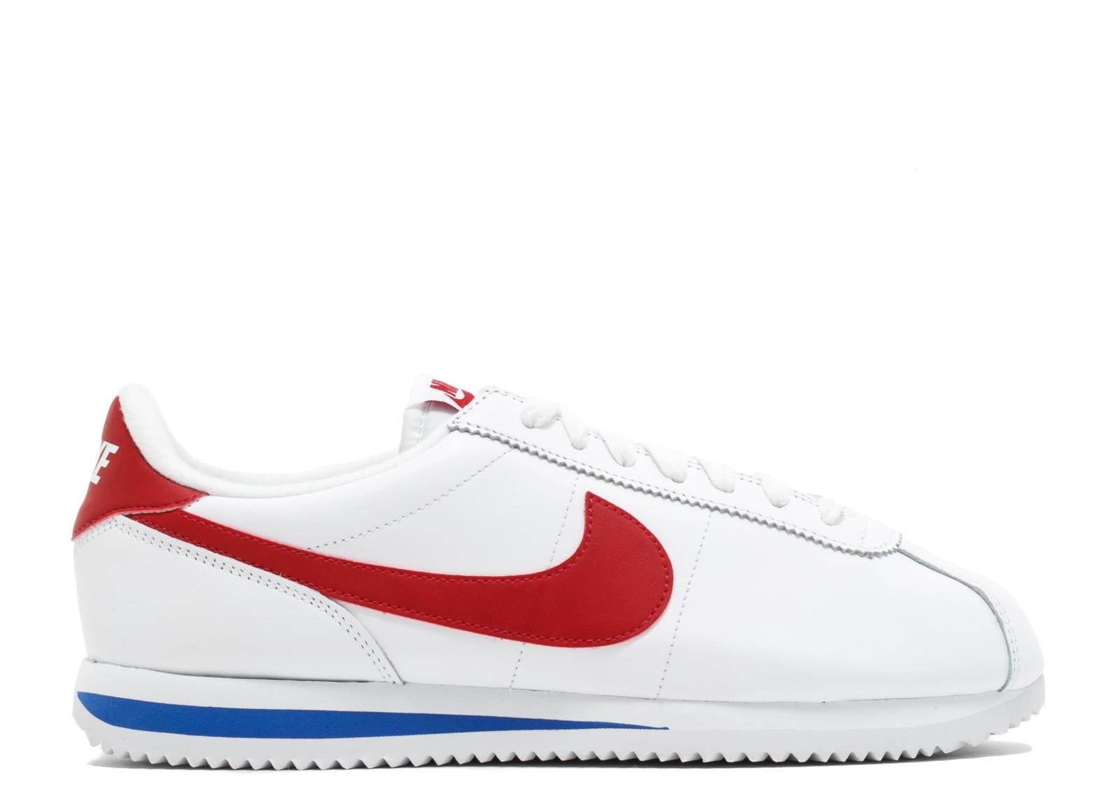 ナイキ ベーシック コルテッツ ベーシック レザー 赤 レッド メンズ WHITE 赤 男性用 スニーカー メンズ靴 靴【 NIKE CORTEZ BASIC LEATHER OG WHITE VARSITY RED】, ドリームコンタクト:0914fc14 --- debyn.com