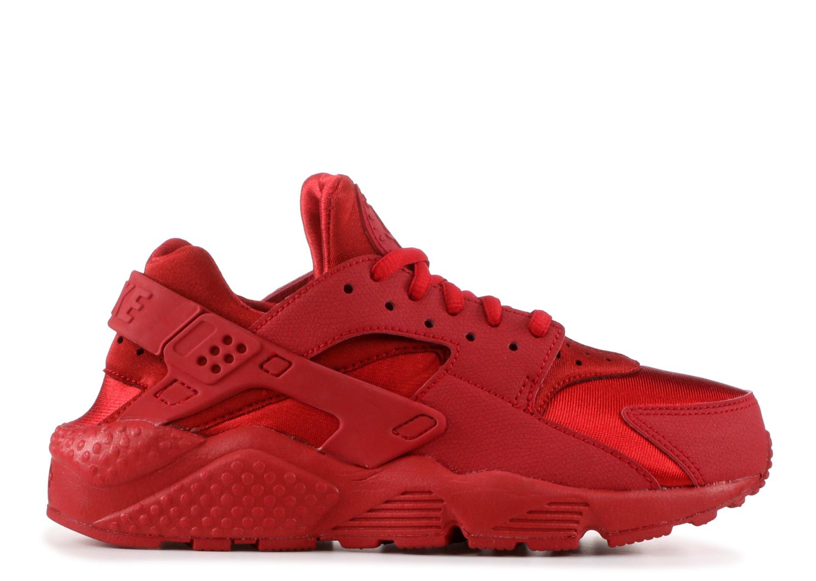 ナイキ エアー ハラチ ラン トリプル 赤 レッド ジム W'S メンズ 男性用 スニーカー 靴 メンズ靴 【 NIKE AIR HUARACHE RUN TRIPLE RED GYM 】