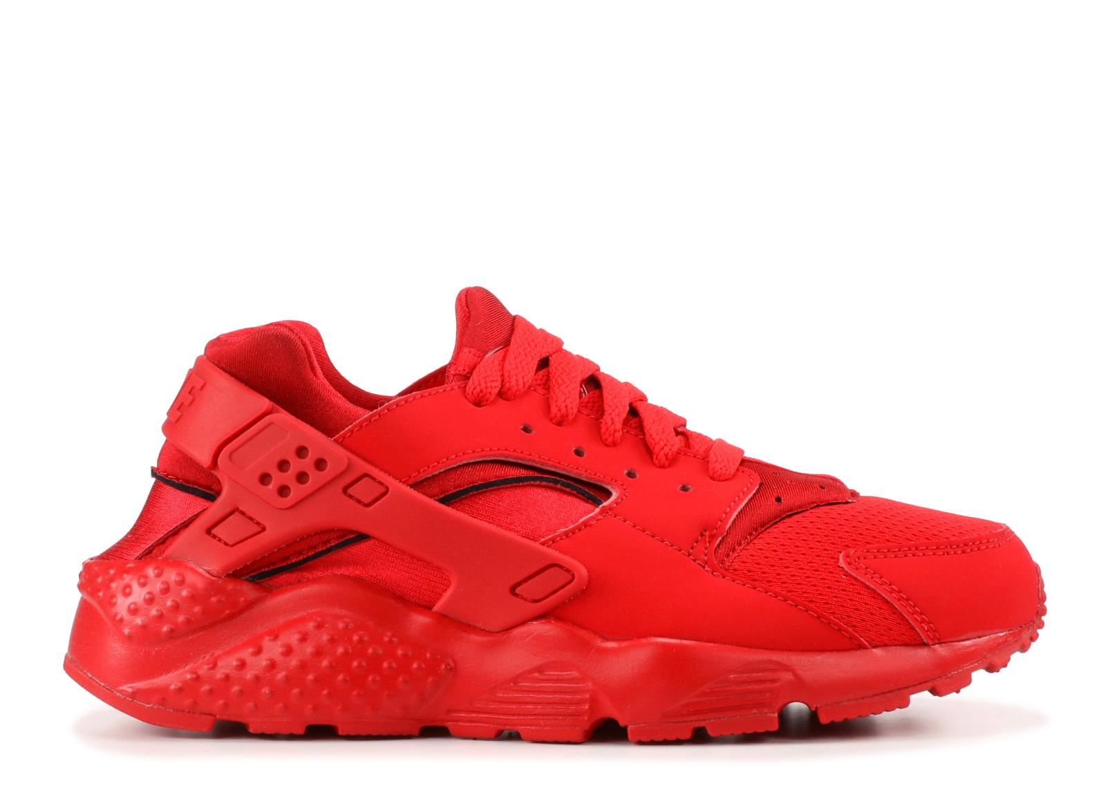 ナイキ ハラチ ラン トリプル 赤 レッド メンズ 男性用 靴 メンズ靴 スニーカー 【 NIKE HUARACHE RUN GS TRIPLE RED UNVRSTY RD RDUNVRSTY 】