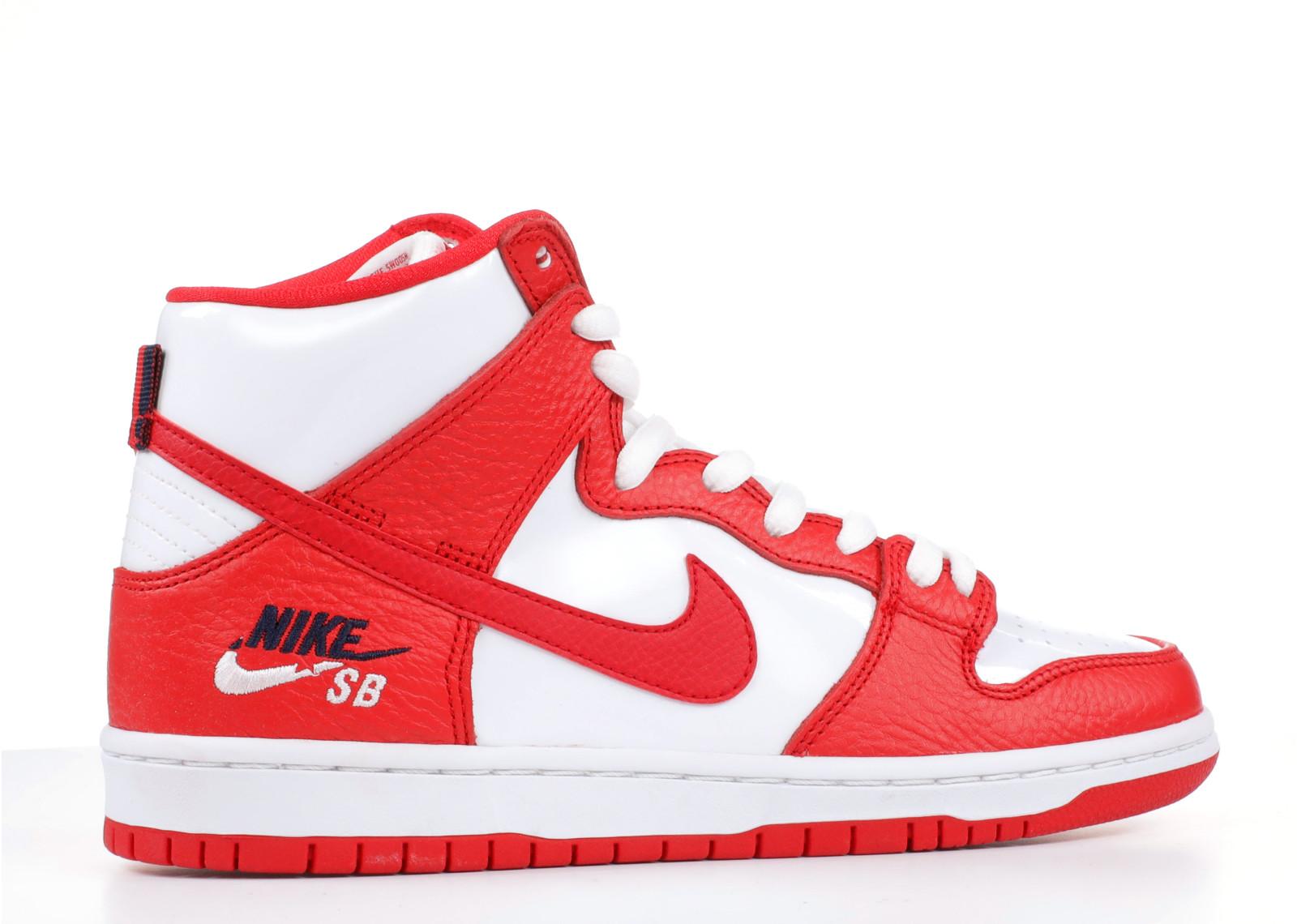 ナイキ エスビー ズーム ダンク ハイ プロ ユニバーシティー 赤 レッド メンズ 男性用 メンズ靴 スニーカー 靴 【 NIKE SB ZOOM DUNK HIGH PRO UNIVERSITY RED 】