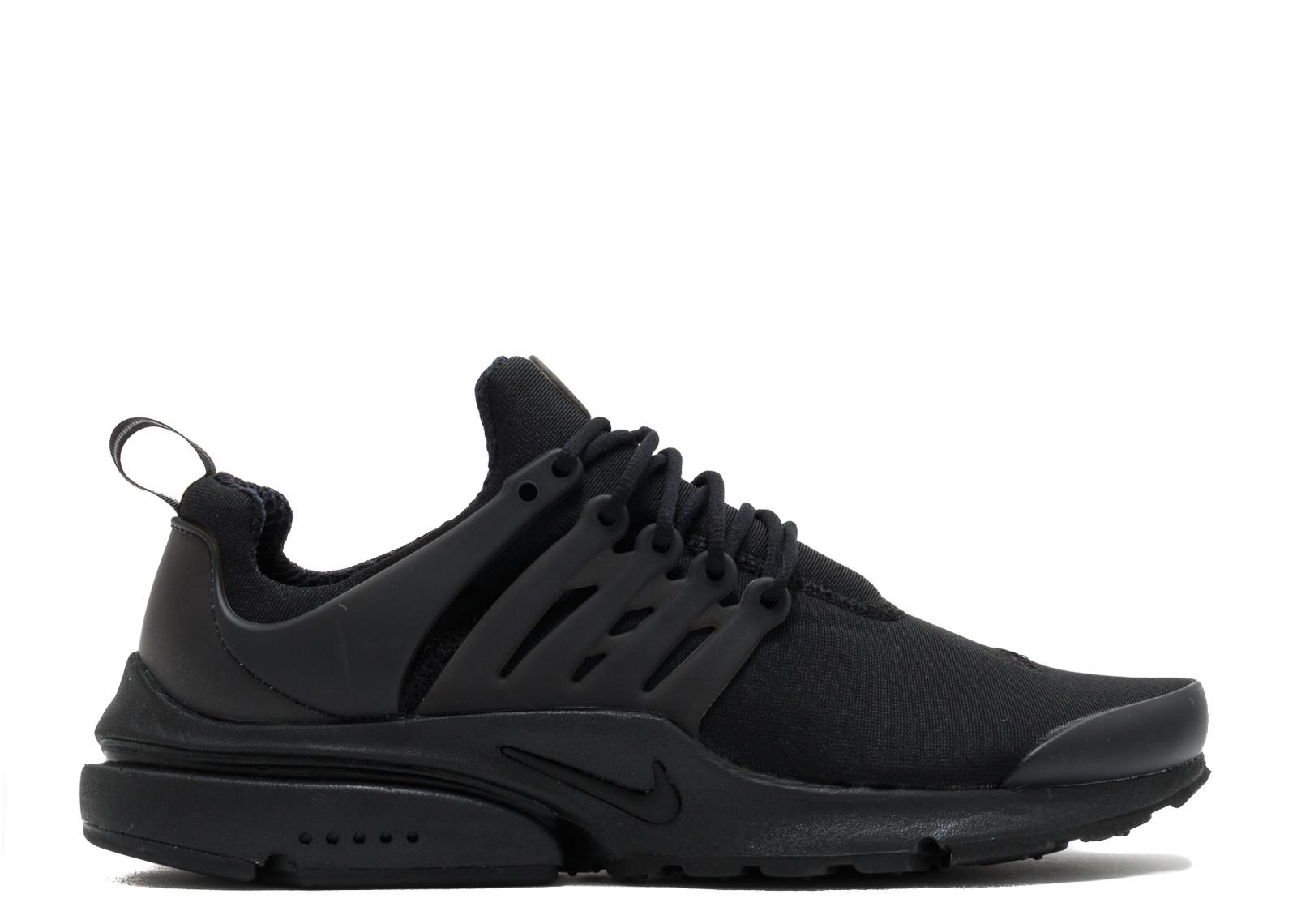 ナイキ エアー プレスト エッセンシャル 黒 ブラック メンズ 男性用 靴 メンズ靴 スニーカー 【 NIKE AIR BLACK PRESTO ESSENTIAL 】