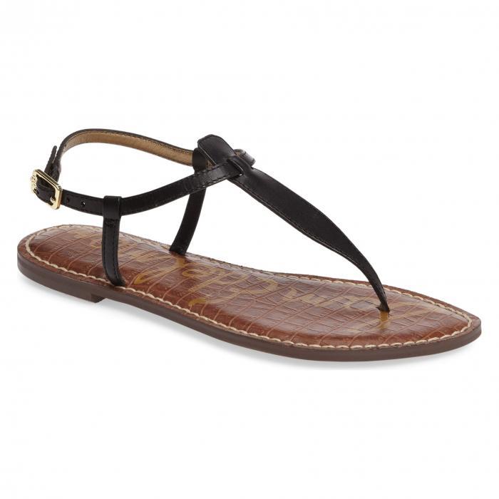 【あす楽】サム エデルマン ジジ サンダル ブラック 黒 シューズ レディース靴 靴 コンフォートサンダル 【 BLACK SAM EDELMAN GIGI SANDAL 】
