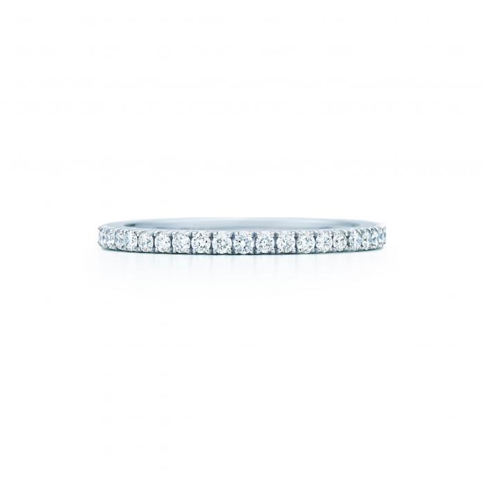 ダイヤモンド リング 白 ホワイト ゴールド 金 アクセサリー 指輪 レディースジュエリー ジュエリー 【 KWIAT DIAMOND STACKABLE RING WHITE GOLD 】