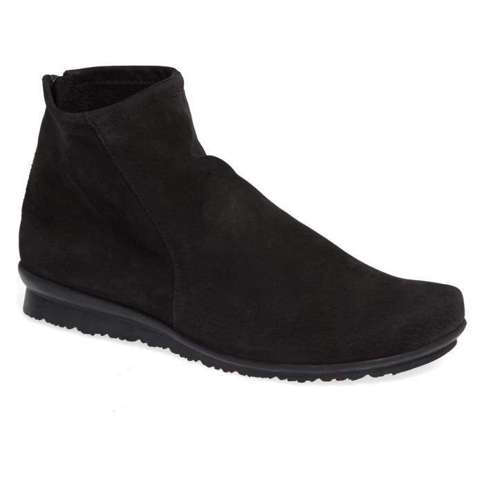 ブーツ 黒 ブラック ヌバック 'BARYKY' シューズ レディース靴 靴 【 BLACK ARCHE BOOT NUBUCK 】
