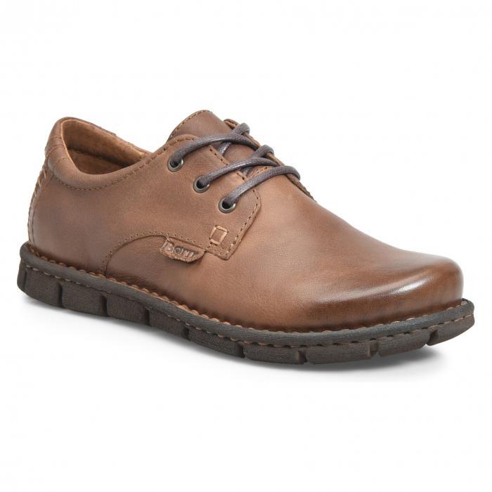 プレイン トー ダービー 茶 ブラウン レザー B RN シューズ 靴 メンズ靴 コンフォートシューズ 【 SOLEDAD PLAIN TOE DERBY BROWN LEATHER 】