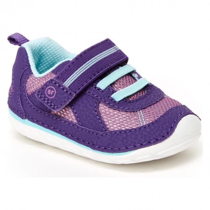 ソフト ジェイミー スニーカー 紫 パープル MOTION < SUP> シューズ 靴 ベビー キッズ マタニティ 【 PURPLE STRIDE RITE SOFT JAMIE SNEAKER 】