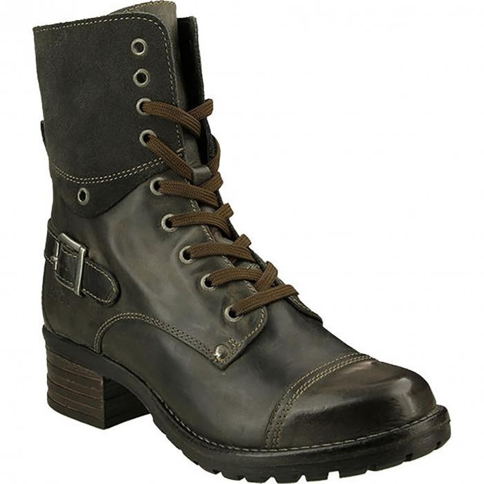 ブーツ GRAY灰色 グレイ レザー シューズ レディース靴 靴 【 GREY TAOS CRAVE BOOT LEATHER 】