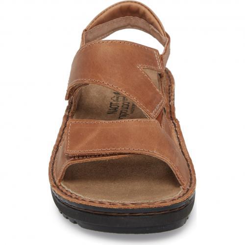 サンダル ラテ 茶 ブラウン レザー シューズ 靴 レディース靴 コンフォートシューズ 【 NAOT ENID SANDAL LATTE BROWN LEATHER 】