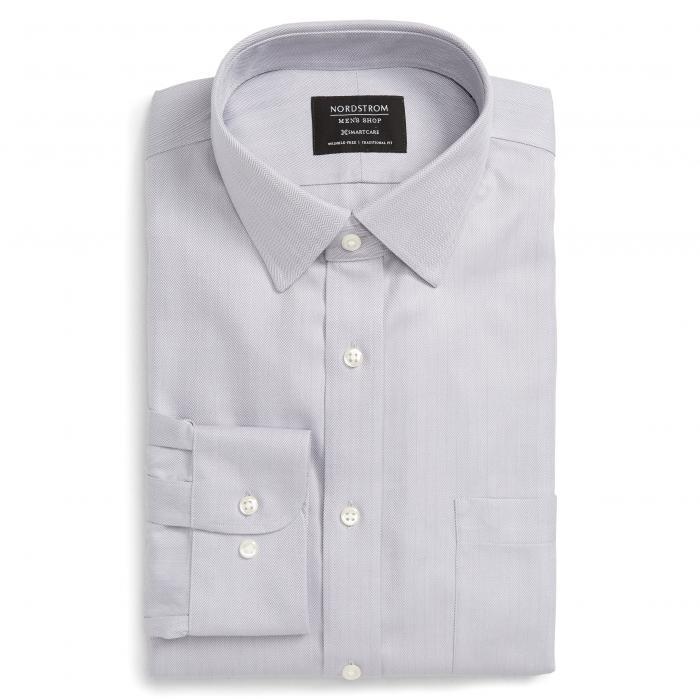 ショップ トラディショナル フィット ヘリンボーン ドレス ワンピース シャツ GRAY灰色 グレイ ディッセンバー MEN'S SMARTCARE < SUP> トップス 長袖 メンズファッション ワイシャツ 【 GREY NORD