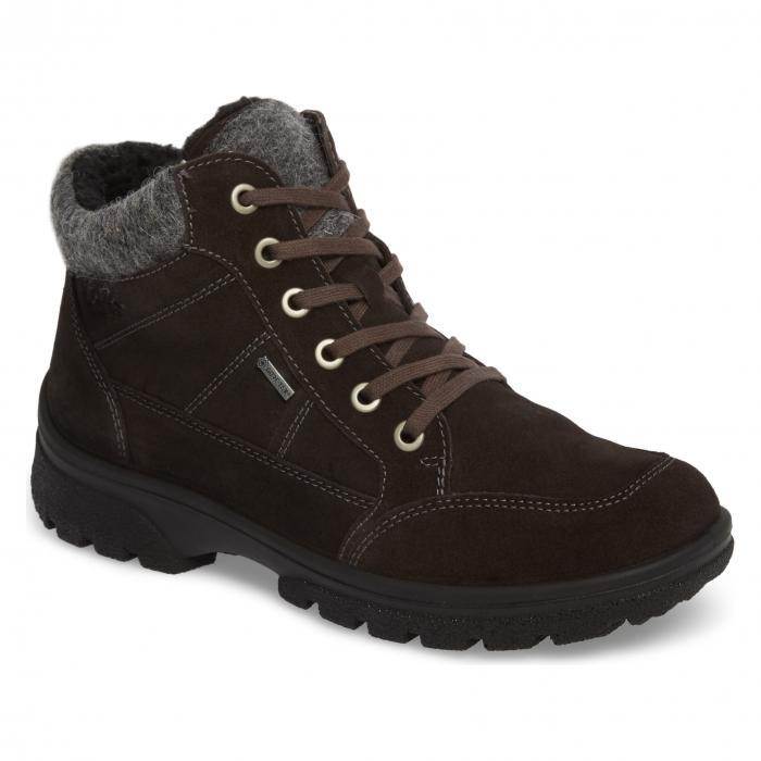 ウォータープルーフ 防水 ハイキング ブーツ スエード スウェード GORETEX < SUP> シューズ レディース靴 靴 【 ARA WATERPROOF HIKING BOOT LAVA SUEDE 】