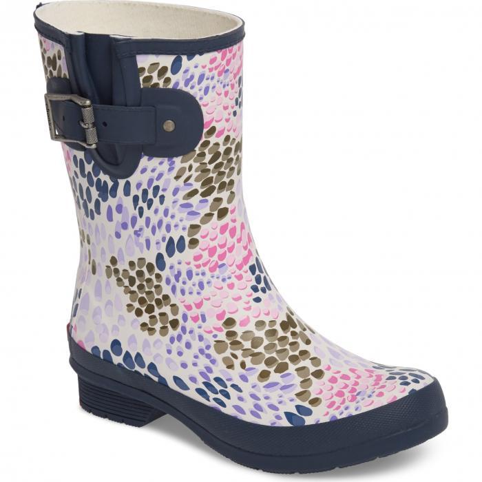 ミッド レイン ブーツ 紺 ネイビー シューズ レディース靴 靴 【 NAVY CHOOKA TILLIE MID RAIN BOOT 】