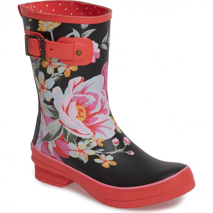 ミッド レイン ブーツ シューズ 靴 レディース靴 【 CHOOKA HILDE MID RAIN BOOT FUCHSIA 】