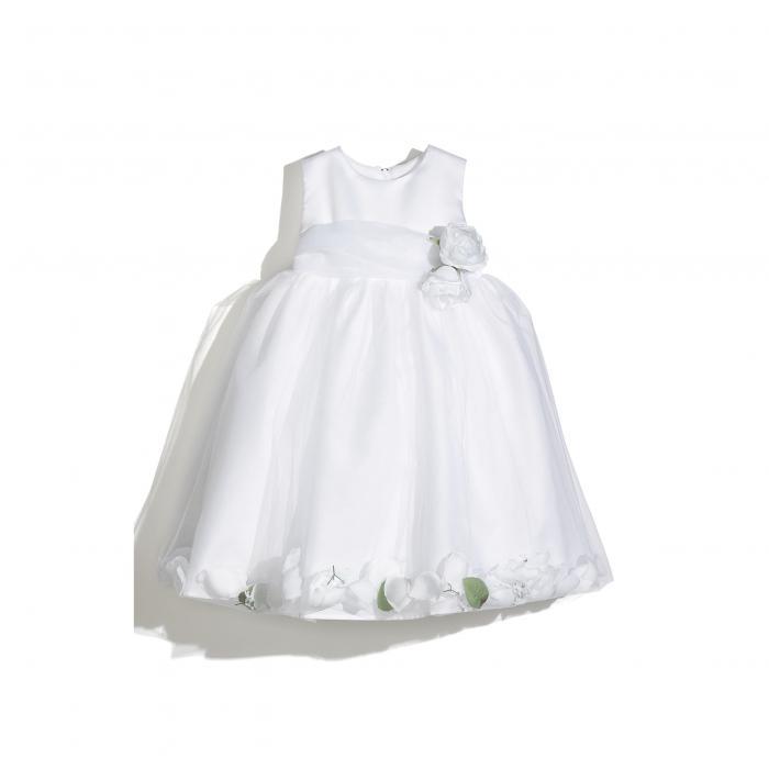 ユナイテッドステイツ エンジェルス ドレス ワンピース 白 ホワイト キッズ ベビー マタニティ 【 ANGELS US PETAL DRESS WHITE 】