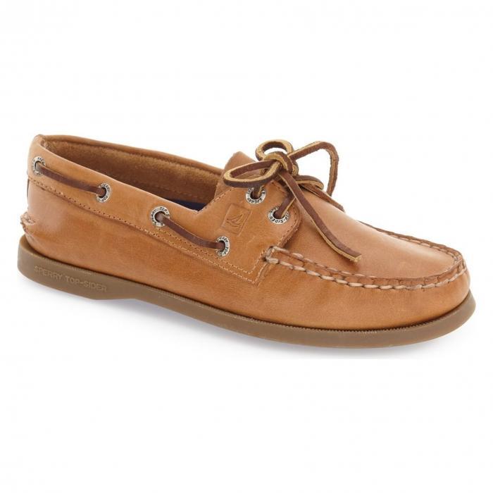ボート 靴 サハラ 'AUTHENTIC ORIGINAL' シューズ コンフォートシューズ レディース靴 【 SPERRY BOAT SHOE NUTMEG SAHARA 】