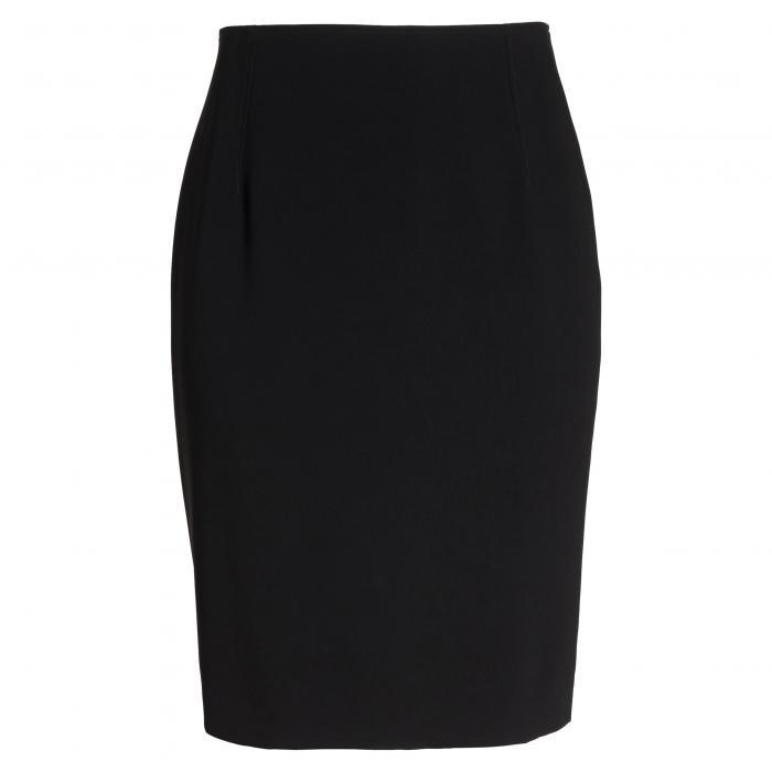 スーツ ペンシル スカート 黒 ブラック レディースファッション ボトムス 【 BLACK LOUBEN SUIT PENCIL SKIRT 】