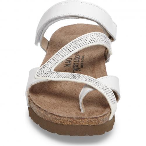 サンダル 白 ホワイト レザー シューズ 靴 コンフォートシューズ レディース靴 【 NAOT GIOVANNA SANDAL WHITE LEATHER 】