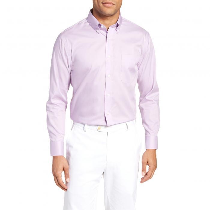 ショップ フィット ドレス ワンピース シャツ ラベンダー スプレー スプレイ MEN'S トップス 長袖 メンズファッション ワイシャツ 【 NORDSTROM SHOP TRIM FIT NONIRON DRESS SHIRT LAVENDER SPRAY 】