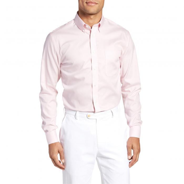 ショップ フィット ドレス ワンピース シャツ ピンク MEN'S トップス 長袖 ワイシャツ メンズファッション 【 PINK NORDSTROM SHOP TRIM FIT NONIRON DRESS SHIRT NOSTALGIA 】