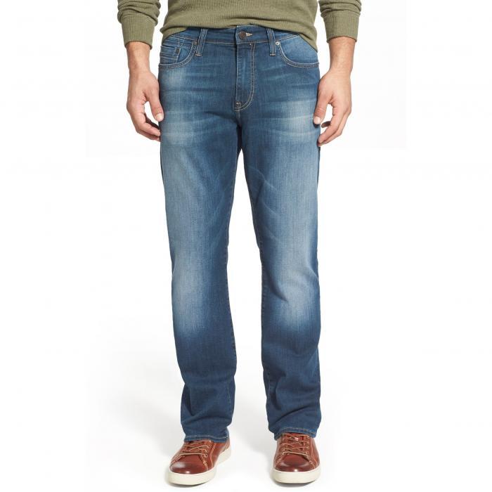 パンツ ストレート レッグ シェーディング ウィリアムズバーグ メンズファッション ズボン 【 MAVI JEANS MYLES STRAIGHT LEG SHADED WILLIAMSBURG 】