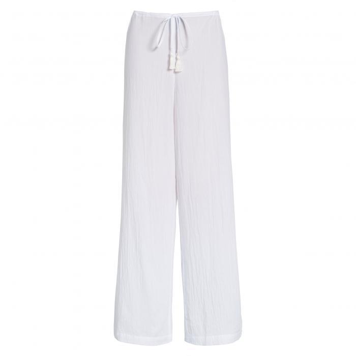 トミー バハマ カバーアップ パンツ 白 ホワイト レディースファッション 水着 【 TOMMY BAHAMA COVERUP PANTS WHITE 】