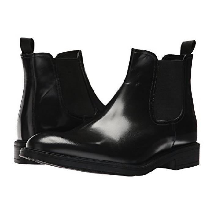 コール ニュー ニューヨーク デザイン 黒 ブラック メンズ 男性用 ブーツ メンズ靴 【 BLACK KENNETH COLE NEW YORK DESIGN 10625 】