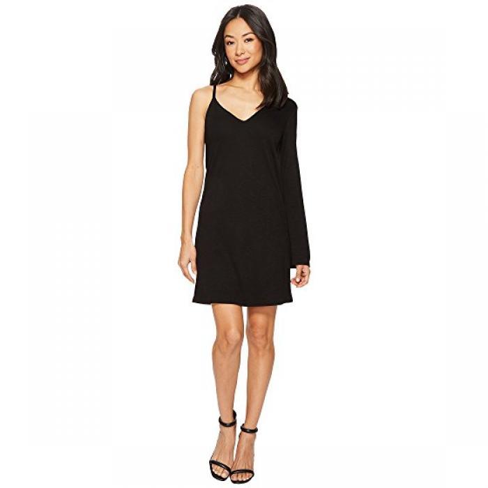 スリーブ ミニ ドレス ワンピース 黒 ブラック レディース 女性用 レディースファッション 【 SLEEVE BLACK LANSTON ONE MINI DRESS 】