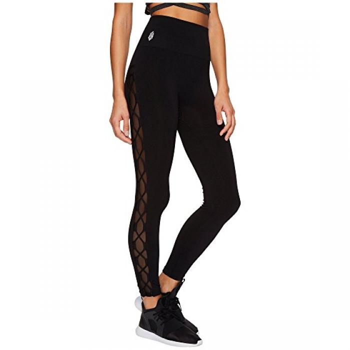 フリー ピープル レギンス パンツ 黒 ブラック レディース 女性用 レディースファッション 【 FREE BLACK PEOPLE MOVEMENT RAIDER LEGGINGS 】