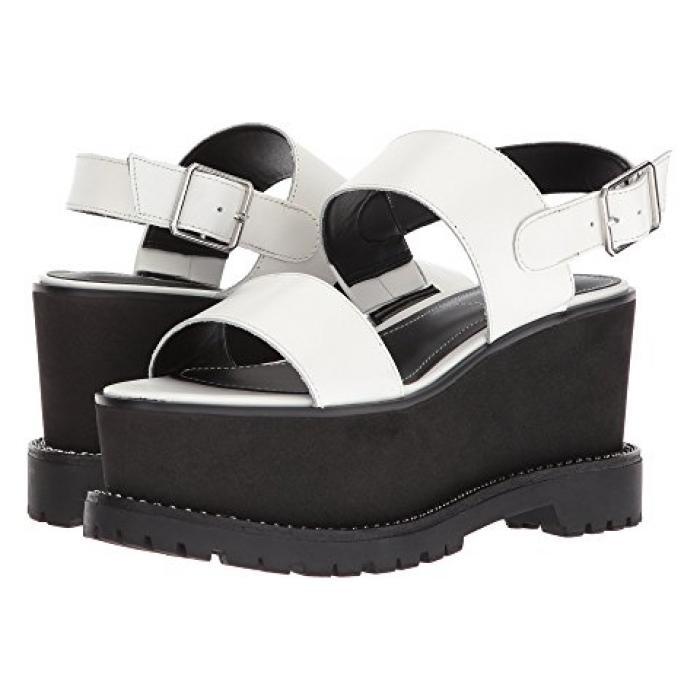 カイリー アービング 白 ホワイト + レディース 女性用 サンダル 靴 【 KENDALL KYLIE CADY WHITE 】