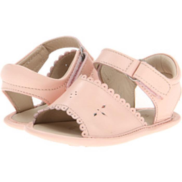 サンダル ピンク ベビー 赤ちゃん用 靴 【 PINK ELEPHANTITO SANDAL W SCALLOP INFANT TODDLER 】