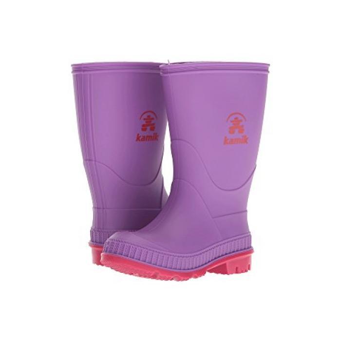 紫 パープル 子供用 ビッグキッズ 靴 ベビー 【 PURPLE KAMIK KIDS STOMP TODDLER 】