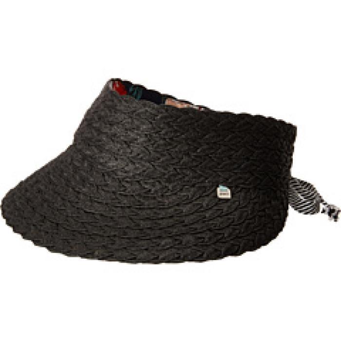 リタ バイザー 黒 ブラック メンズ 男性用 帽子 バッグ 【 BLACK PISTIL RITA VISOR 】