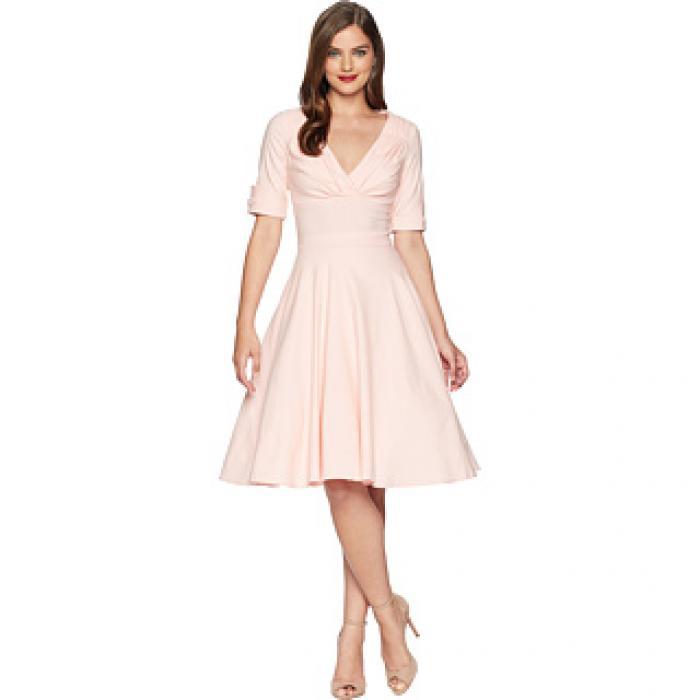 ユニーク ヴィンテージ スウィング ドレス ワンピース ライト ピンク レディース 女性用 レディースファッション 【 SWING PINK UNIQUE VINTAGE DELORES DRESS LIGHT 】