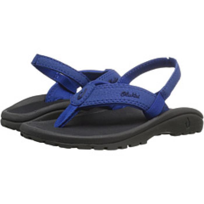 【エントリーで全商品ポイント10倍1/9 20:00-1/16 01:59迄】シー 'OHANA 子供用 ビッグキッズ サンダル 靴 【 OLUKAI KIDS 2 TODDLER SEA GRASS BLACK 】