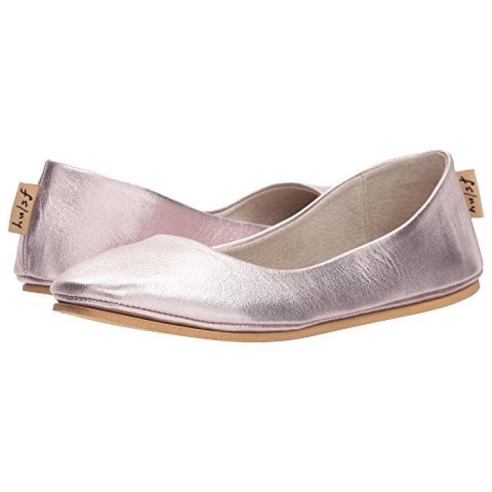 フレンチ ソール ローズ ゴールド 金 シルク ナッパ レディース 女性用 レディース靴 【 ROSE FRENCH SOLE SLOOP GOLD SILK NAPPA 】