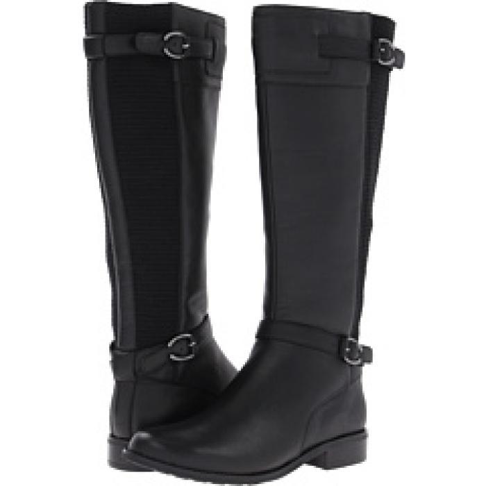 黒 ブラック スエード スウェード レディース 女性用 メンズ靴 ブーツ 【 BLACK AETREX ESSENCE SUEDE 】