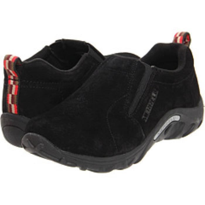 ジャングル モック 黒 ブラック 子供用 ビッグキッズ キッズ フォーマル靴 【 BLACK MERRELL KIDS JUNGLE MOC TODDLER 】
