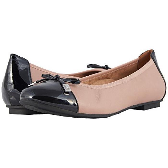 レディース 女性用 バレエシューズ レディース靴 【 VIONIC MINNA ROSE BLACK 】