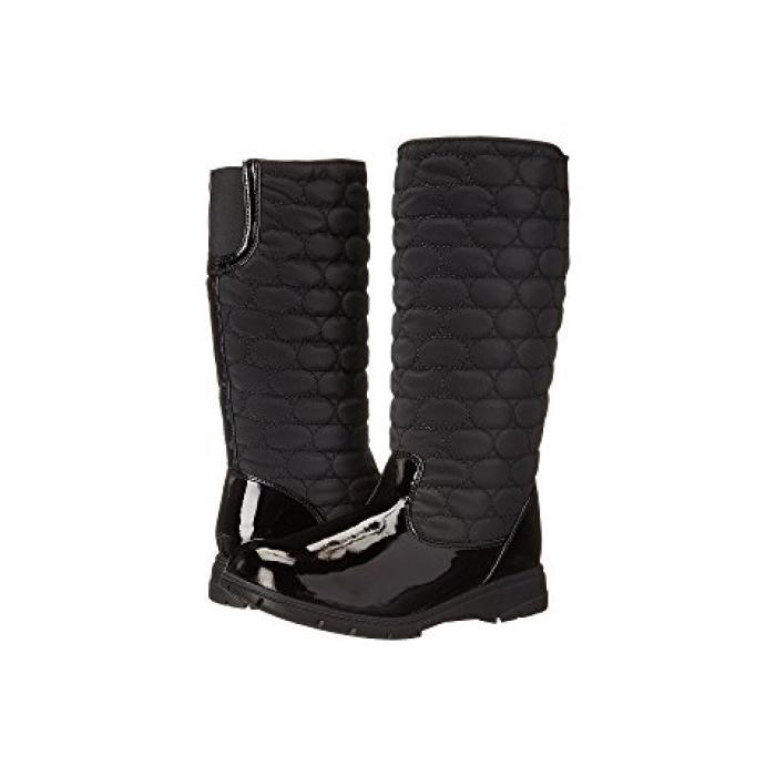 ソフト スタイル パリ 黒 ブラック レディース 女性用 ブーツ 【 BLACK SOFT STYLE PARIS VYLON PATENT 】