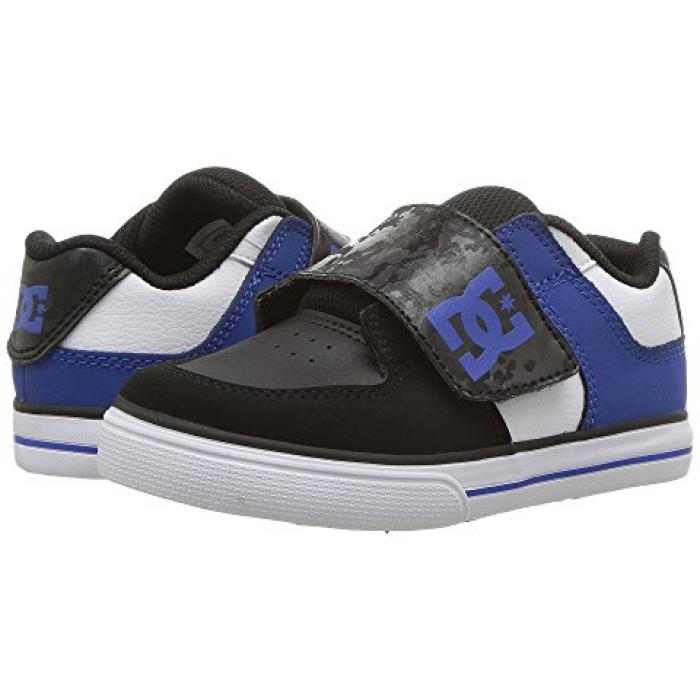 ディーシー ピュア ベビー 赤ちゃん用 ベビー服 ベビー靴 【 DC KIDS PURE V II TODDLER BLACK BLUE WHITE 】