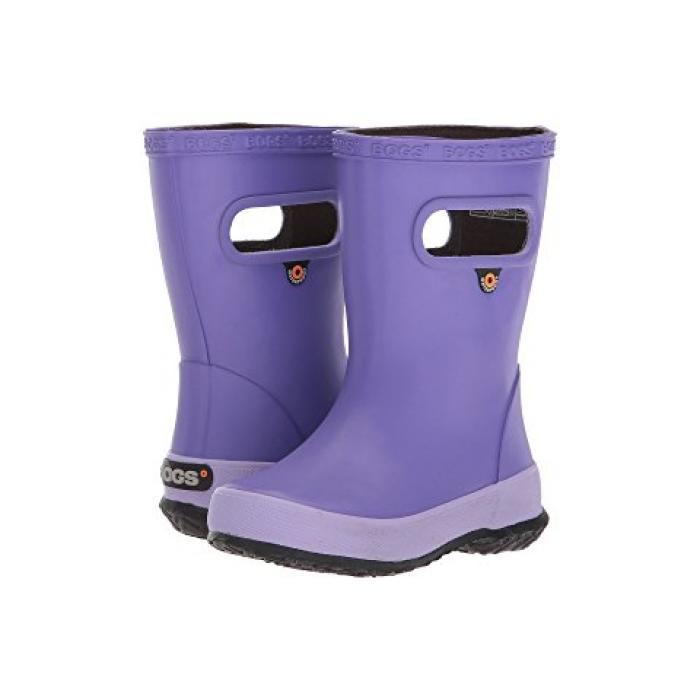 スキッパー ソリッド 紫 バイオレット 子供用 リトルキッズ 靴 マタニティ 【 SOLID BOGS KIDS SKIPPER TODDLER VIOLET 】